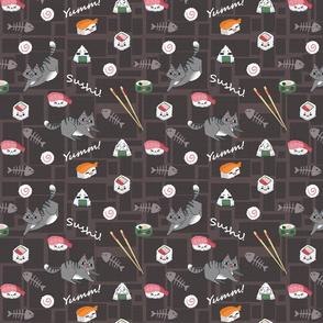 Kawaii Sushi Cats
