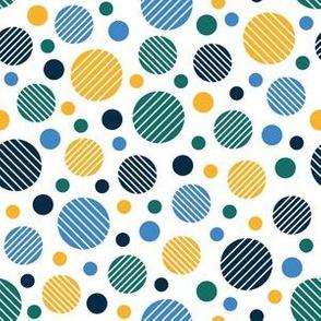 Striped Circus Dots (Multi)