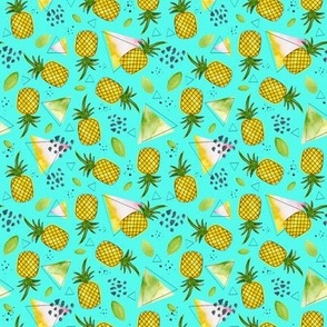 Juicy Pineapple 3 - Small Repeat