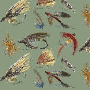 Fly Fishing Lures by Salzanos