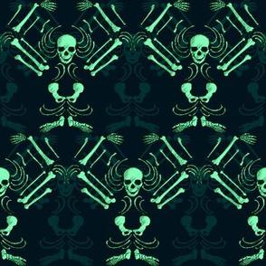 Ethereal Skeleton Damask