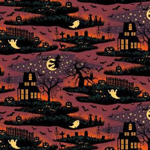 Magical Halloween Night - Medium Scale