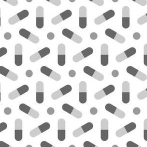06764287 : R6 pills : pale grey