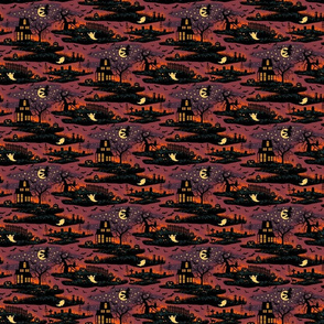 Magical Halloween Night - Tiny Scale