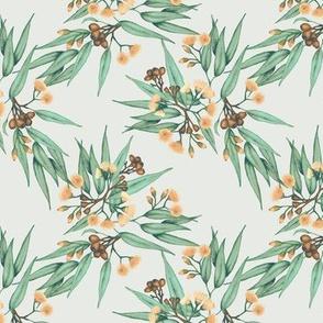 Eucalyptus Peach Vintage Green // small