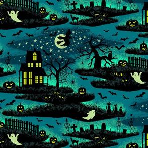 Magical Halloween Night - Foxfire - Large Scale