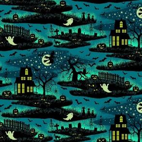 Magical Halloween Night - Foxfire - Medium Scale