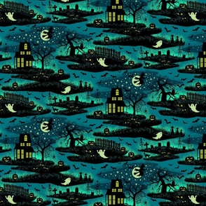 Magical Halloween Night - Foxfire - Small Scale