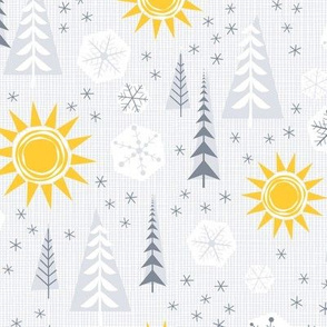 Winter Sunshine - Medium Scale