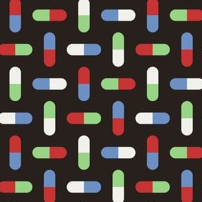 06765663 : R4 X pill : fifties mood