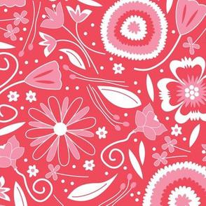 Petal Potpourri Floral Pink (Spring)