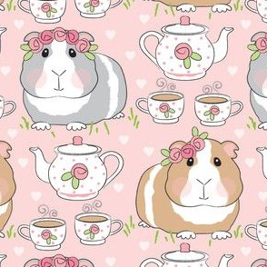 large guinea-pig-tea-party