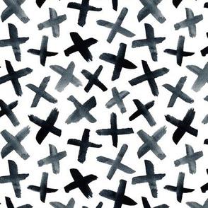 Messy Cross Pattern