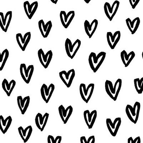 Messy Doodle Hearts
