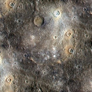 Final Frontier ~Mercury from NASA's MESSENGER Satellite ~ Small