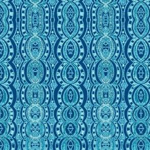 Stripes in Blues
