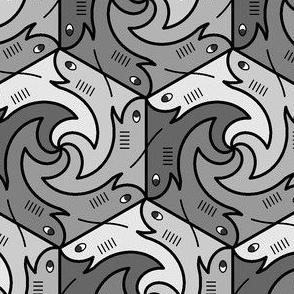 00676973 : shark6 : grey