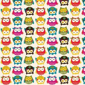 Owls in my appletree