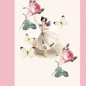 Ballerina Fairy (with pink stripe)