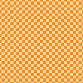 Checkers - Pumpkin on Straw