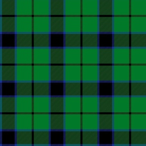 "Innes green hunting tartan, 6"""