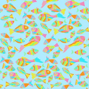 Sea Dream - Aquamarine - Sea Fish Small