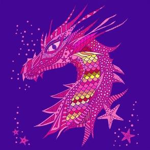 Sea Dream - Ultramarine - Sea Dragon Pink