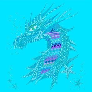 Sea Dream - Aquamarine - Sea Dragon Blue