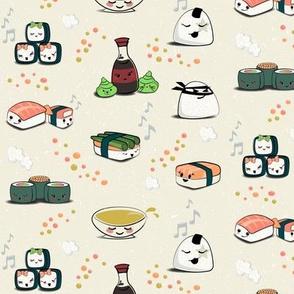 Sushi Sushi Happy Happy small scale