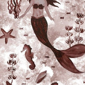 Under the Sea (Maroon)