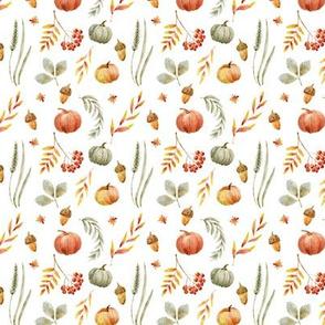 """4"""" Autumn Press // White"""