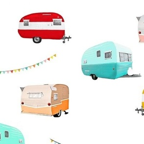 Colorful Caravan