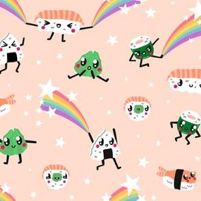 Rainbows & Kawaii Sushi