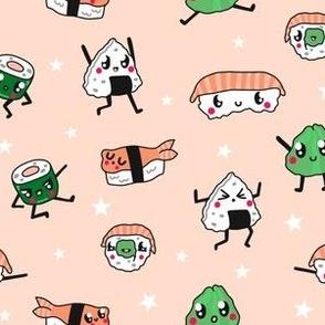 Kawaii Sushi Amongst the Stars