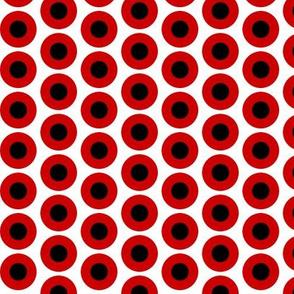 Mod Fabric Red & Black Medium