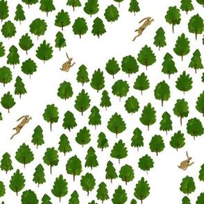 Running Hares