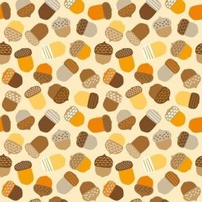 colourful acorns