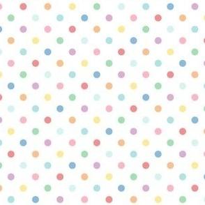 pastel rainbow fun polkas