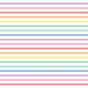 pastel rainbow fun stripes no1 horizontal