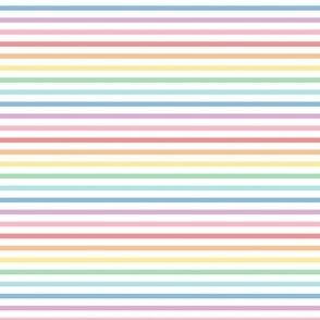 pastel rainbow stripes 1 horizontal