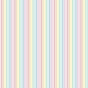 tiny pastel rainbow stripes 1 vertical