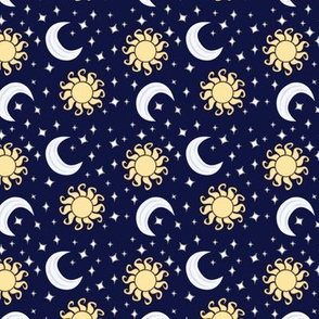 Suns and Moons with Stars