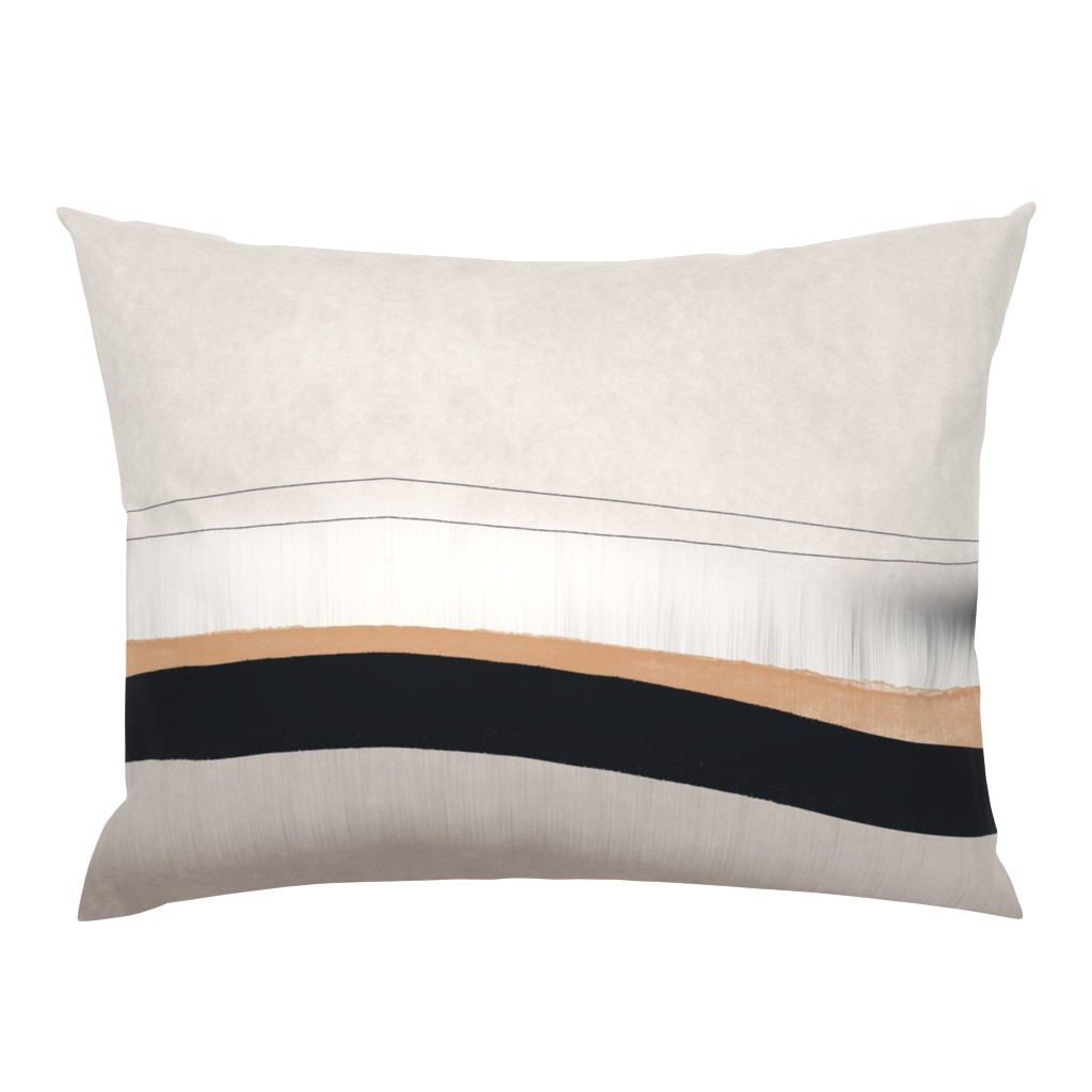 Campine Pillow Sham featuring Birch by sowilofir