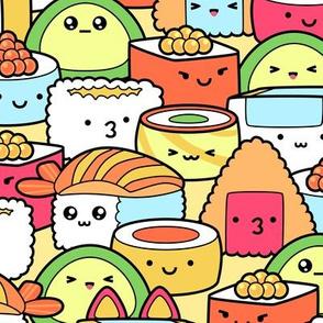 Colorful Kawaii Sushi