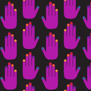 Pop Hands Purple