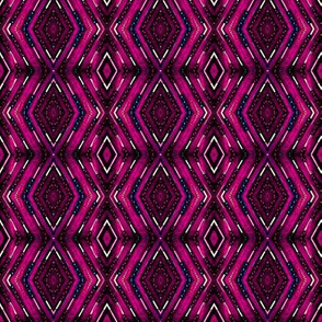 Tribal Diamonds - Magenta