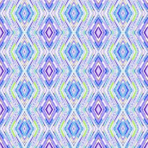 Tribal Diamonds - Periwinkle