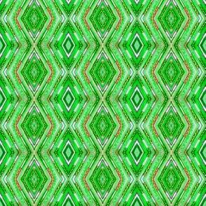 Tribal Diamonds - Green