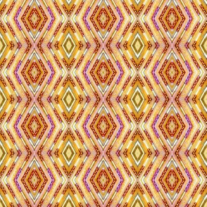 Tribal Diamonds - Melon