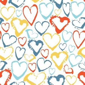 Hearts brush